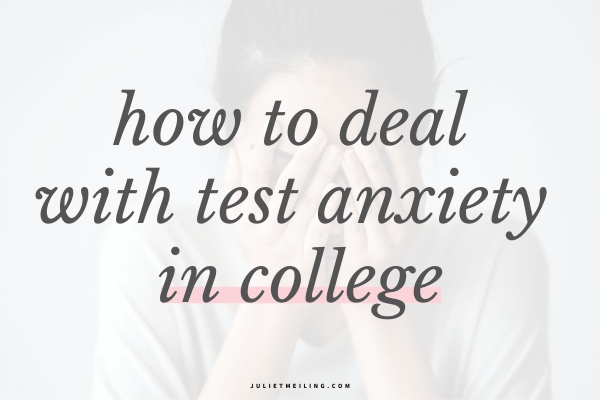 test anxiety in college how to overcome test anxiety in college