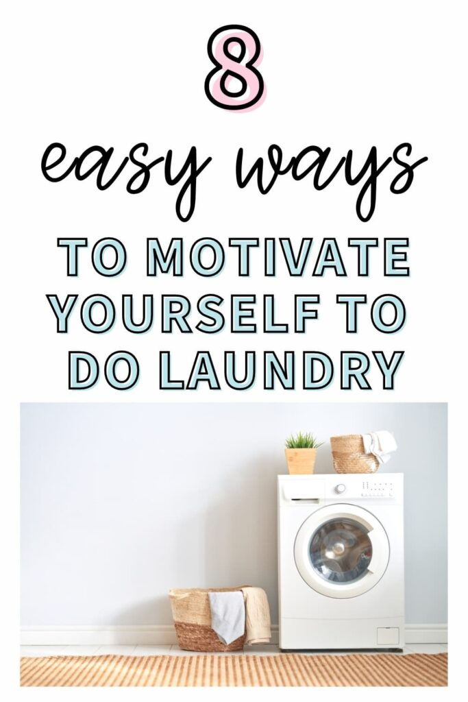 A simple laundry room of someone who is motivated to do laundry.