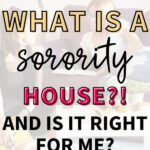 Two sorority women studying for their college classes together in their sorority house.